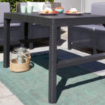 Lyon rattan table
