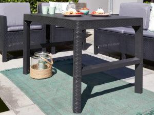 Lyon rattan table