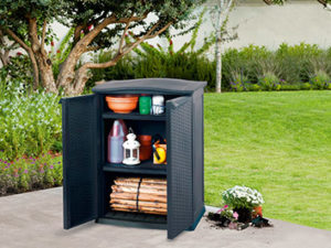 RATTAN STYLE Base Utility Shed