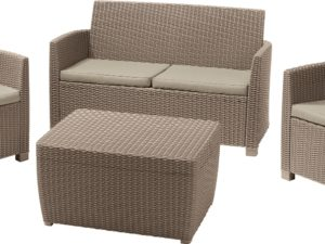 Corona set with cushion box